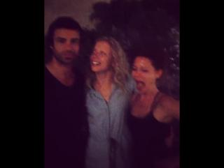 Naomi Battrick Ben Starr Niamh Walsh (Steven Waddington instagram) behind the scenes Jamestown (p3)