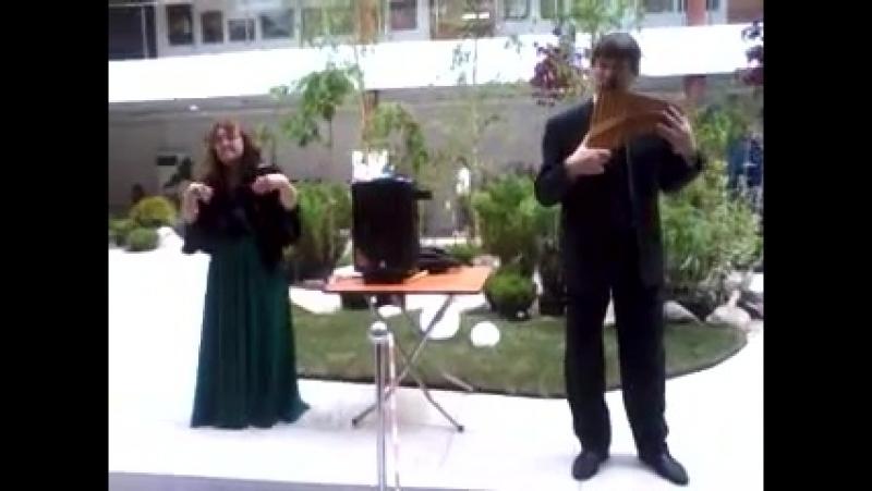 Людмила Царёва и Дмитрий Табачков.