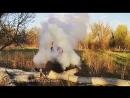 Цветной дым в Астрахани Smoke fountain white.