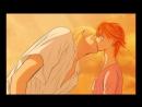 Beso de Kyouko y Koun (coloring by Crystal Paz)