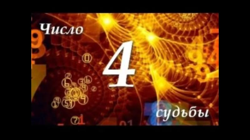 "Число Судьбы ""4"". Астротиполог - Нумеролог - Дмитрий Шимко"