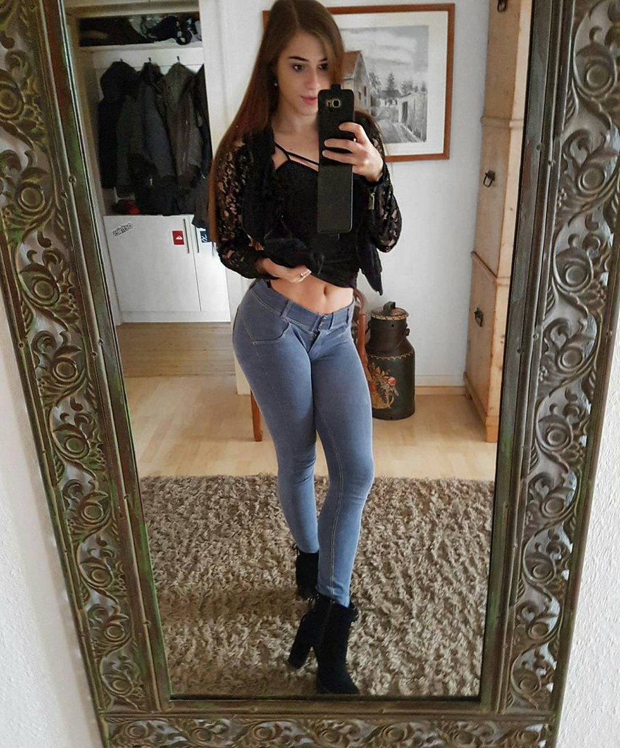 Astounding hot redhead teen bitch gives nice