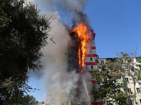 Уголовное дело возбудили по факту гибели двух человек при пожаре гостиницы в центре Ростова