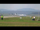 Antonov-225 Mriya AMAZING take off runway 16 at ZRH