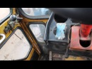кабина на т 40 с печкой в действии