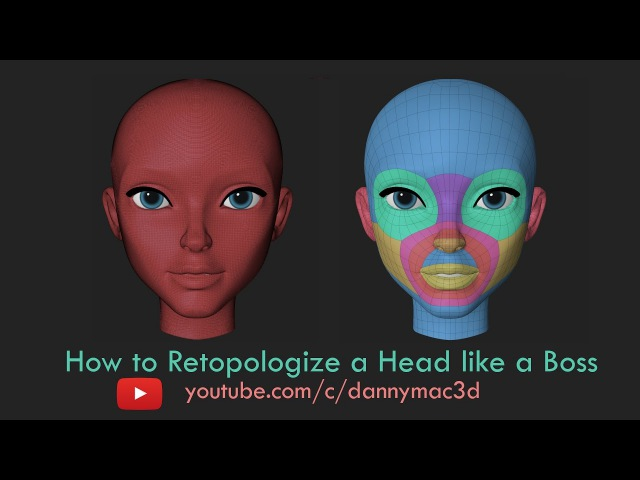 How to Retopologize a Head like a Boss - Part 2