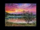 Пишем маслом туманное утро Vitali Oil Painting