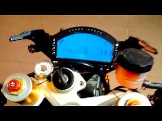 StreetFun BMW s1000rr turbo test with new firmware
