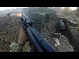 Ukraine War - Helmet Cam Firefight Combat Footage In Ukrainian Trenches