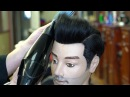 Classic Pompadour: How to Blow Dry and Style Men's Hair