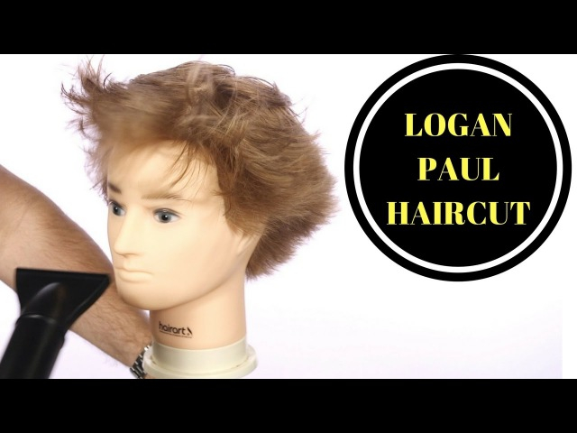 LOGAN PAUL HAIRCUT - TheSalonGuy