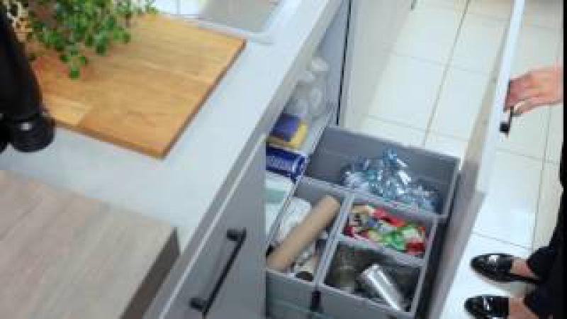 WFM KUCHNIE - otwieranie szuflady z frontem pod zlewozmywakiem
