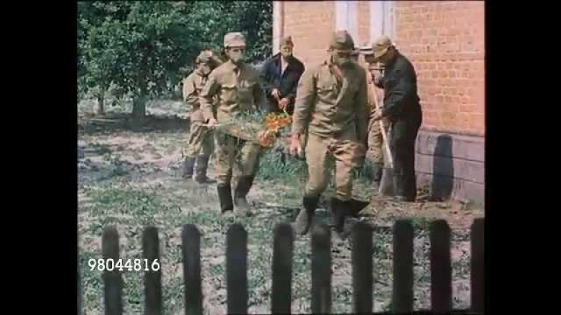 Чернобыльская зона 1986 дезактивация домов