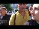 Казаки избивают митингующих Владивостока 12 июня Полиция не реагирует