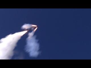 Пуски и поражение объектов террористов в Сирии крылатыми ракетами «Калибр» и «Оникс»