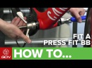 How To Remove Fit A Press Fit Bottom Bracket On A Road Bike