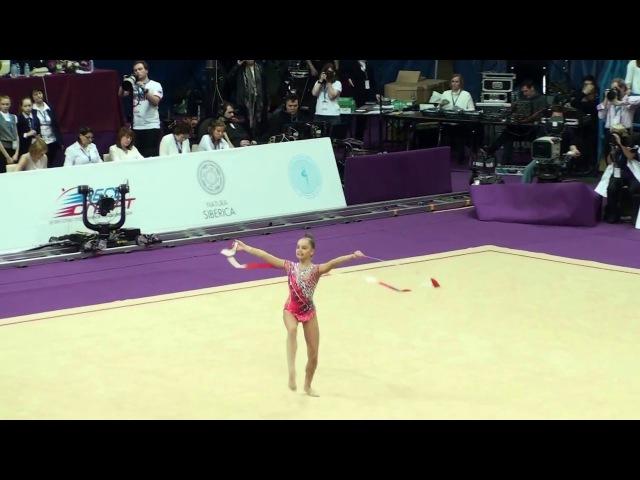 Аверина Арина, лента. Гран-При 2016. Художественная гимнастика