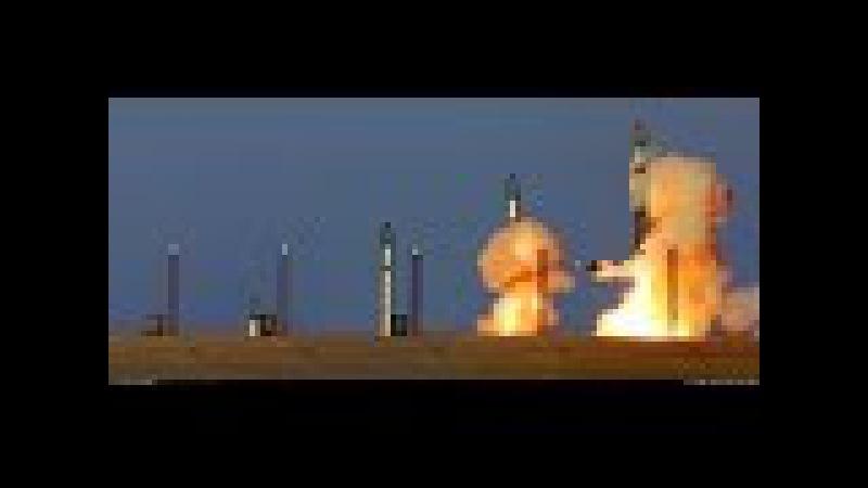 Ракета Р-36М Сатана - самая мощная ядерная межконтинентальная баллистическая ра...