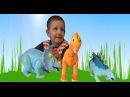 Говорящие между собой динозавры,интерактивные игрушки из мультика Поезд Динозавров от Tomy для детей