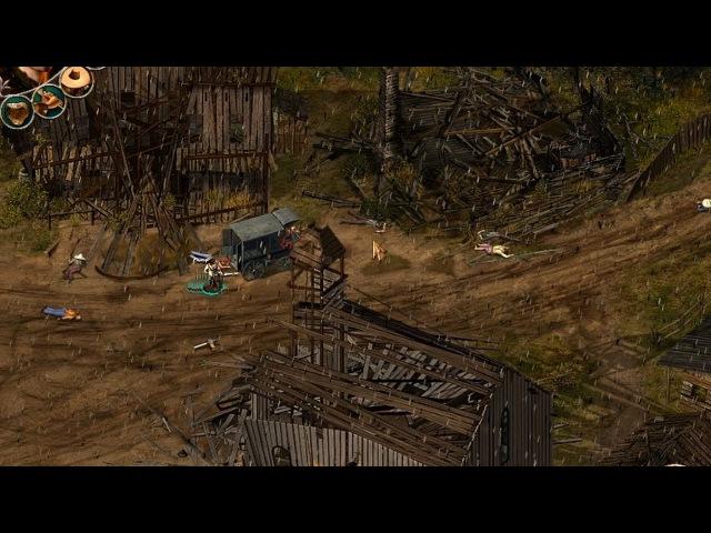 Desperados: Взять живым или мертвым - прохождение - миссия 22 - Разборка в Дедстоуне