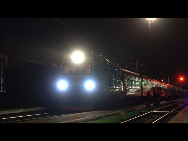 Ночной поезд Армавир-Адлер