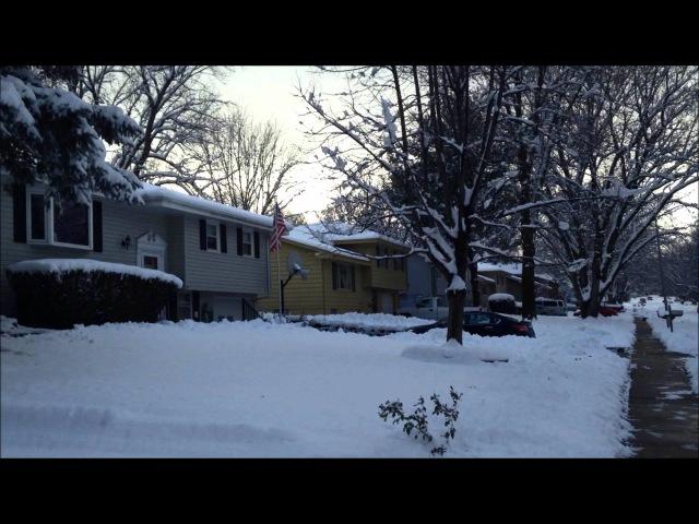 АМЕРИКА. Омаха. Небраска. Зима 2015 AMERICA。オマハ。ネブラスカ州。冬2015