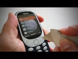 Nokia 3310 (2017) Durability Test - BEND, Scratch and Burn tested