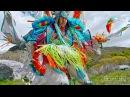 Необычный индейский военный танец Новахо / 4K HDR 1000fps