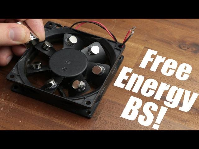 Free Energy BS! || Magnet PC Fan, Bedini Motor