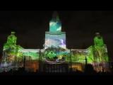 Световое шоу Сбербанка на площадке МГУ | Фестиваль «Круг света» 2016