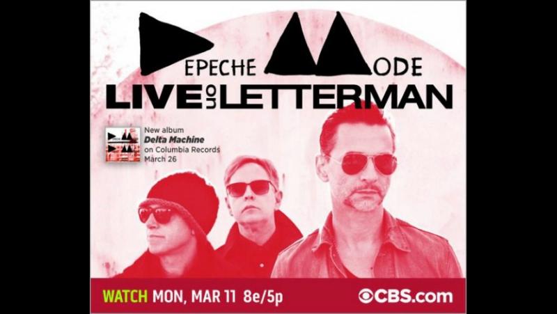 Depeche Mode - Live On Letterman - Ed Sullivan Theater 11/03/2013