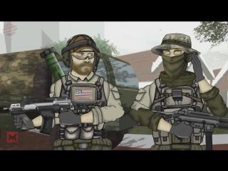 Друзья по Battlefield - Под водой (11 серия) [6 сезон]