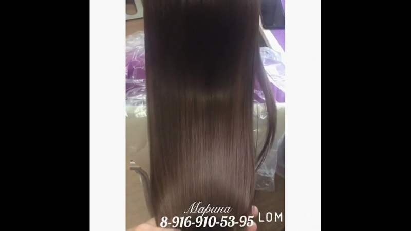 Ботокс - любимая процедура 😍 Так выглядят мои волосы без нарощенных 😌 Спасибо любимому мастеру Марине @hair_volos 💘 @ Blackstarb