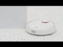 Робот-пылесос Xiaomi Mi Robot Vacuum Cleaner за работой!