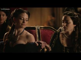 Сексуальная Лара Пулвер (Lara Pulver) в сериале Демоны Да Винчи (Da Vinci's Demons, 2013) s01e06 (1080p)