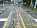 #90 :Велоразметка на перекрёстке