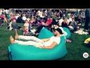 Надувной шезлонг- lamzac hangout (Ламзак Хенгаут). Релакс мешок, кресло лежак