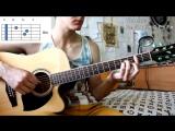 БАСТА - МЕДЛЯЧОК (ВЫПУСКНОЙ) аккорды, бой (Разбор Песни)_ Как Играть на Гитаре Б
