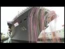 Церемония спуска на воду крупнейшего корабля ВМС Японии - вертолётоносца класса Izumo