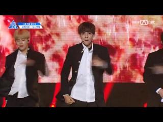 [FANCAM] 170424 Выступление Kim Samuel с песней Boy in Luv – BTS @ Mnet Official