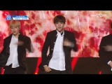 [FANCAM] 170424 Выступление Kim Samuel с песней Boy in Luv – BTS @ Mnet Official