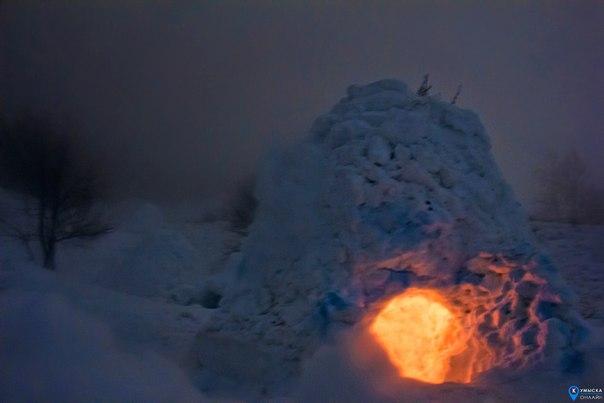 Низкие облака опустились на Кумыску, началась метель, но несмотря на э