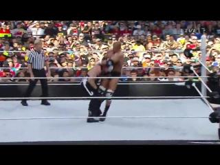 [WWE QTV]]☆]WrestleMania XXXI[31]Triple H vs. Sting[☆]Трипл Ейч про Стинга[