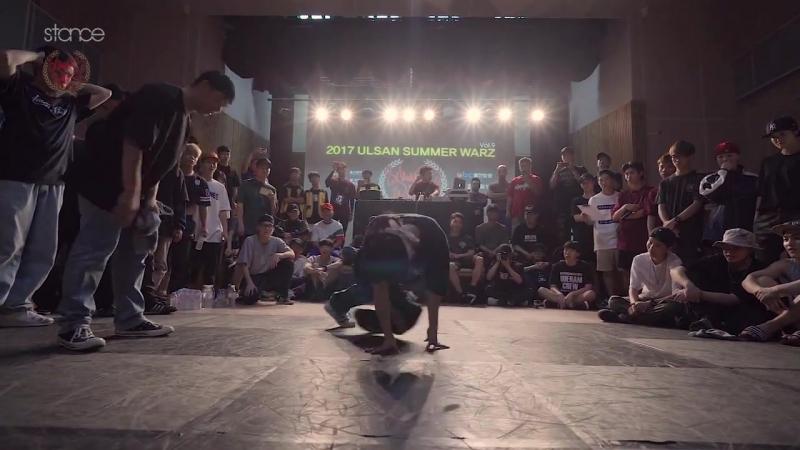 Bgirl FreshBella from Korea at Ulsan Summer Warz 2017