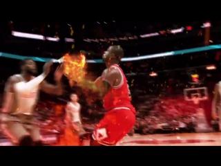 Лучшие моменты НБА со спецэффектами