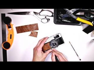 How to re-skin a vintage film camera ( olympus trip35 )