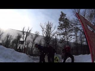 турнир по спрот пейнтболу три на три зимой пейнтбольный клуб скорпион 5
