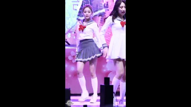 170409 우주소녀 WJSN 비밀이야 선의 직캠 By SuYa @금천하모니 벚꽃행사