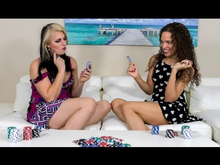 [twotgirls] sydney farron & chloe wilcox - a game of strip poker [2017, shemale on shemale, hardcore, 1080p]