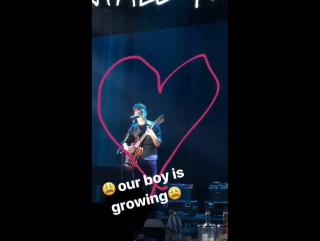 Niall via katyperry on instagram story 11/2/17